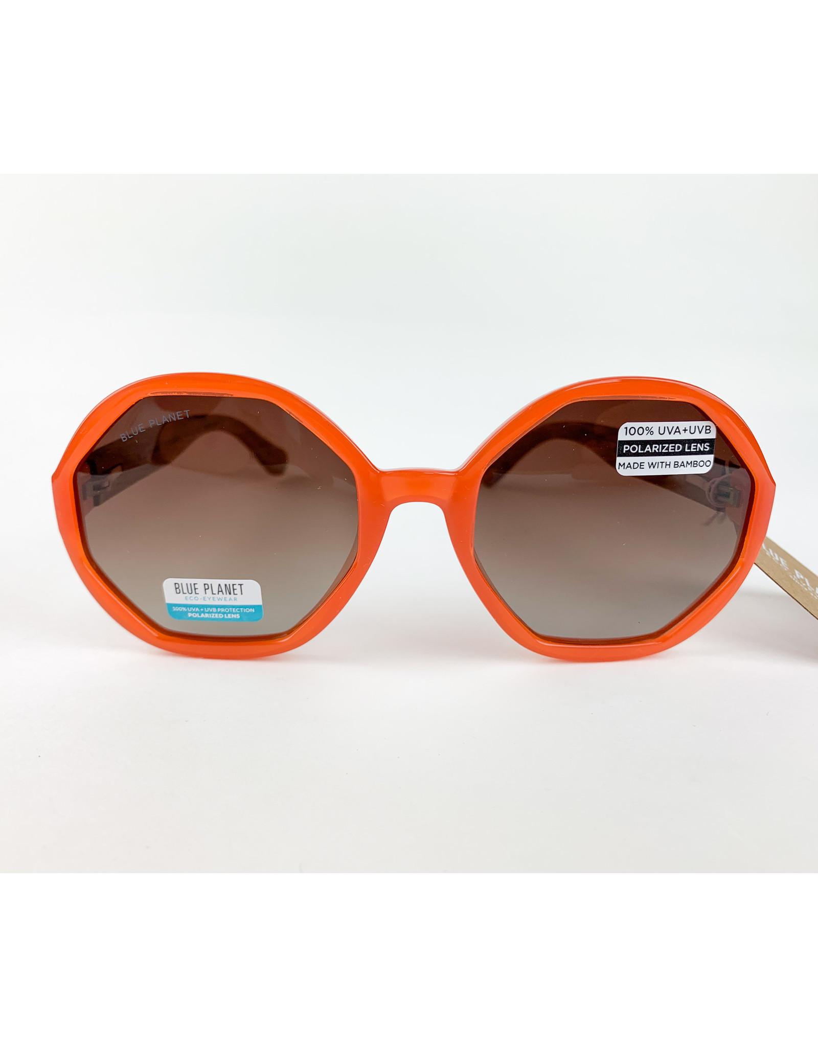 Blue Planet Sunglasses Donna Tangerine