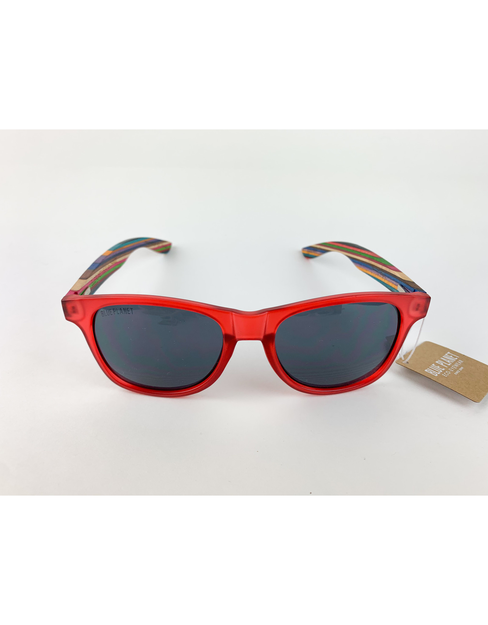 Blue Planet Sunglasses Indio Frosted Rainbow