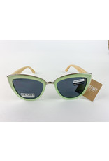 Blue Planet Sunglasses Bailey Jade Green Bamboo