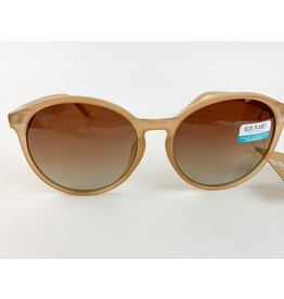Blue Planet Sunglasses Miri Beige and Gold
