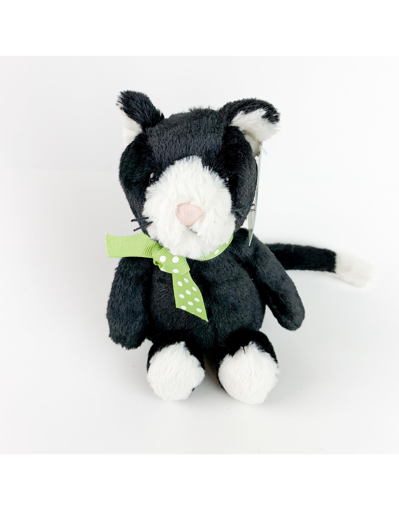jelly cat Bashful Bl/Wh Kitten - Small