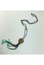Mountain Metal Artisan Jewelry - consignment MM13 Malachite/turquoise necklace - consignment