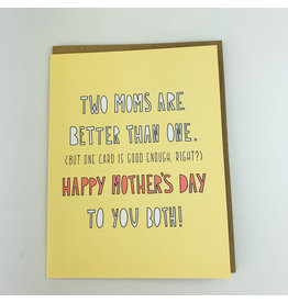 Two Moms One Card