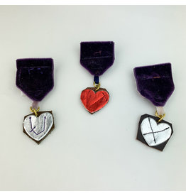 Camille Hempel Jewelry-Consignment Heart Medal 1 Consignment