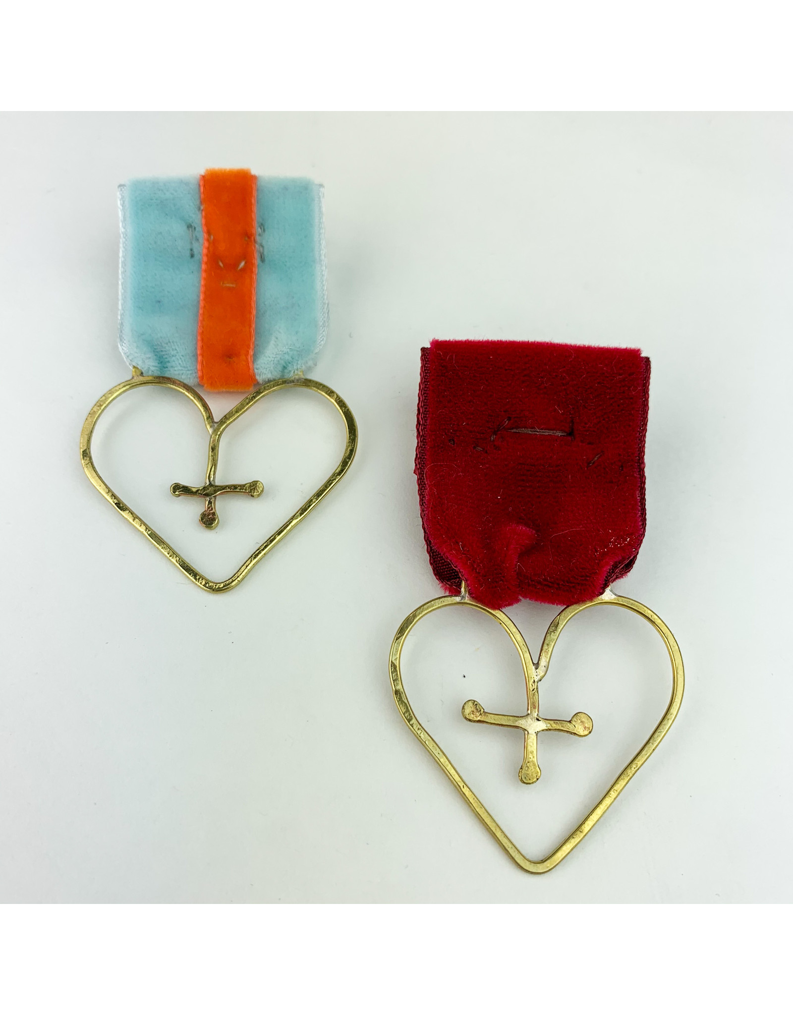 Camille Hempel Jewelry-Consignment Heart Medal 2 Consignment