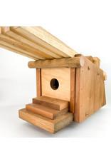 John Posl - consignment Overhanging roof birdhouse #62
