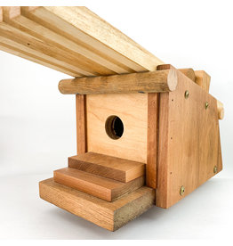 John Posl - consignment Overhanging roof birdhouse #62