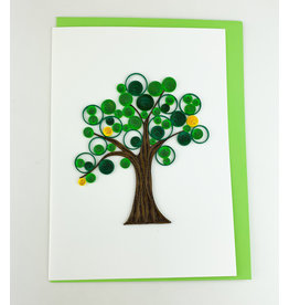 Iconic Quill Shop Tree of Life (Green)