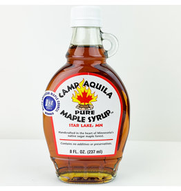 Camp Aquila Pure Maple Syrup Pure Maple Syrup 8 FL OZ
