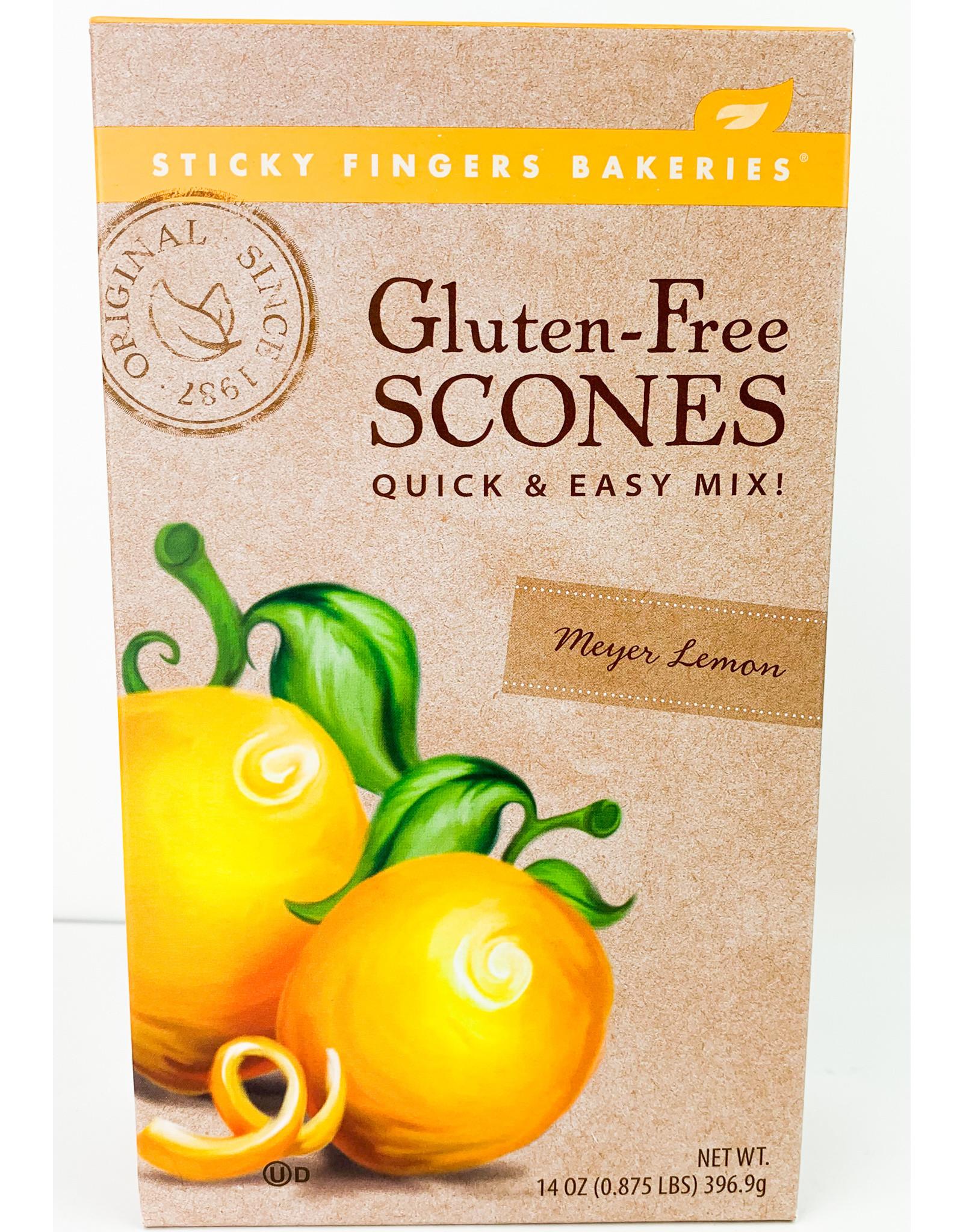 Sticky Fingers Bakeries Meyer Lemon -gluten free