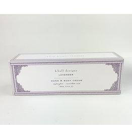 K. Hall Lavender hand cream