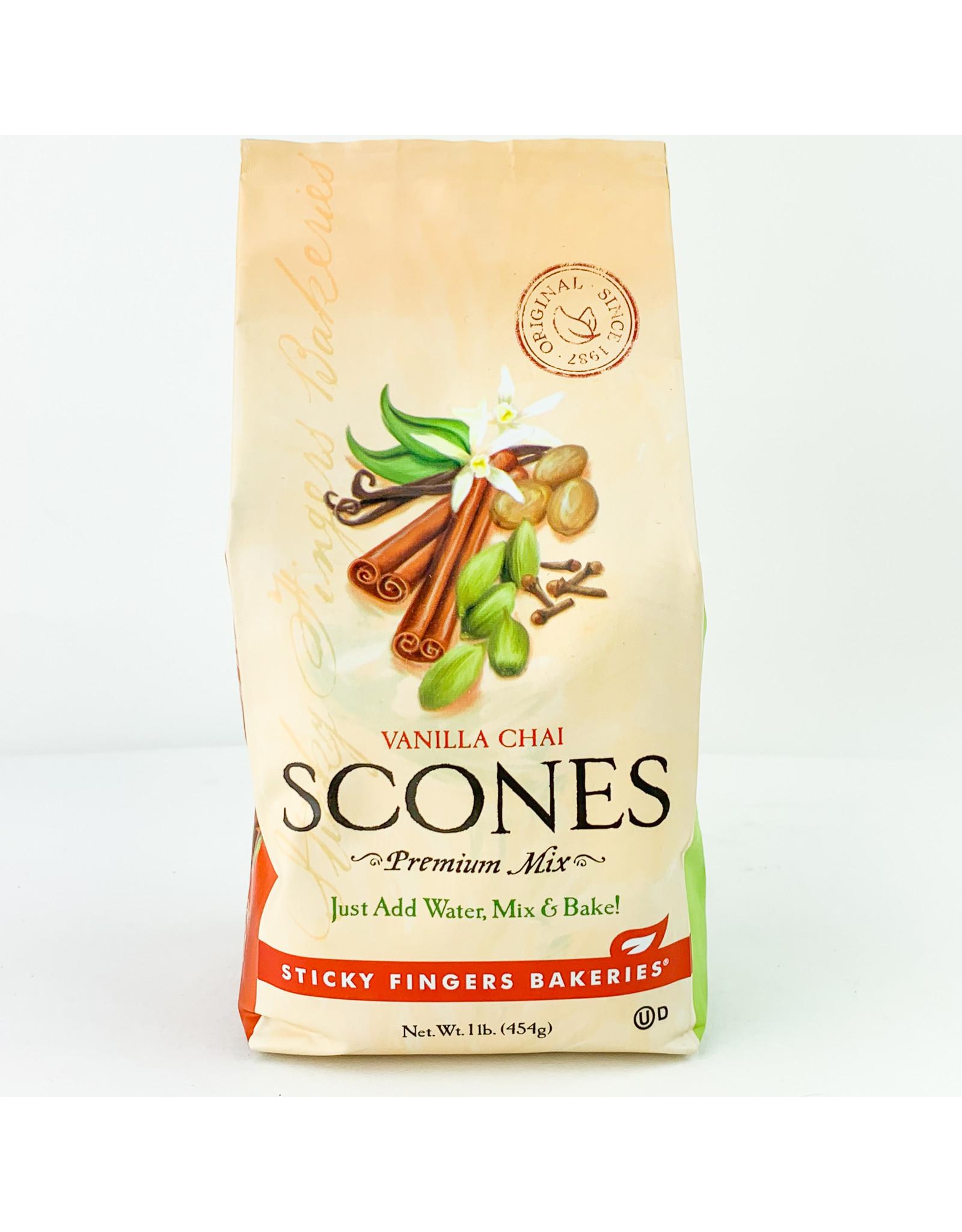 Sticky Fingers Bakeries Vanilla Chai Scone