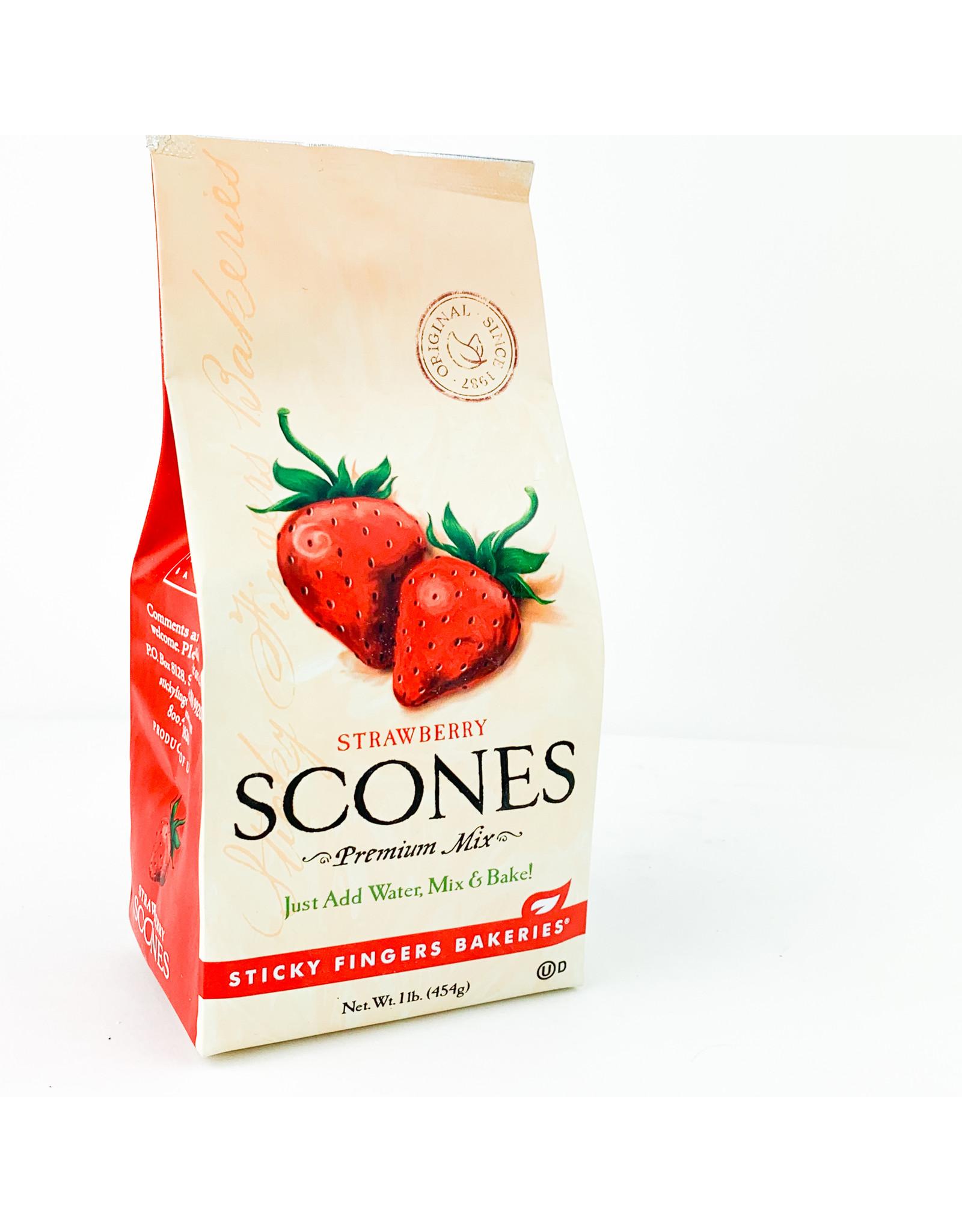 Sticky Fingers Bakeries Strawberry Scone Mix