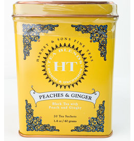 Harney and Sons Master Tea Blenders Peaches & Ginger Tea