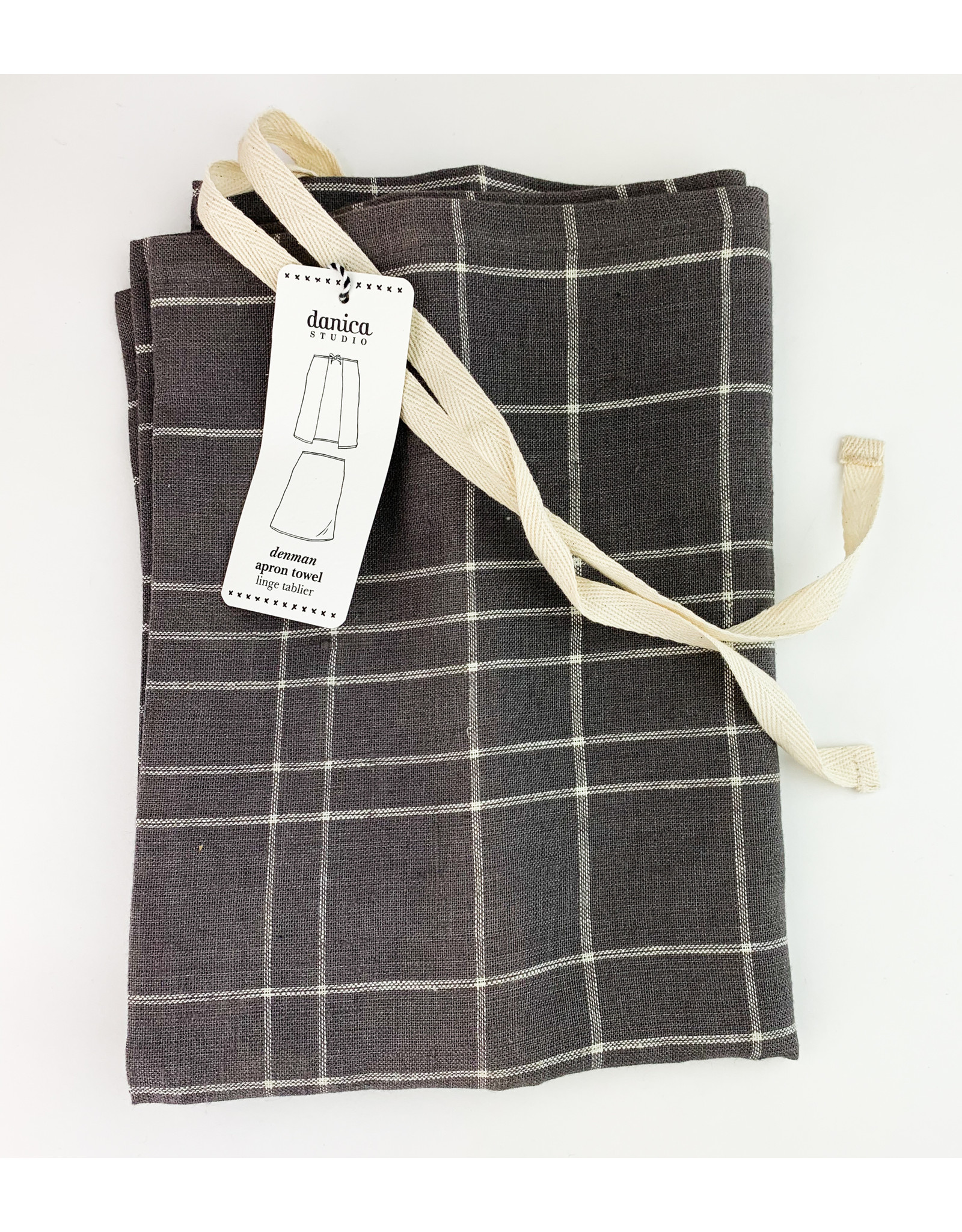 Now Designs Apron Denman Grid