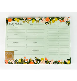 Rifle Citrus meal planner