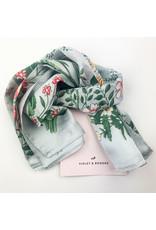 Violet & Brooks Silk floral scarf