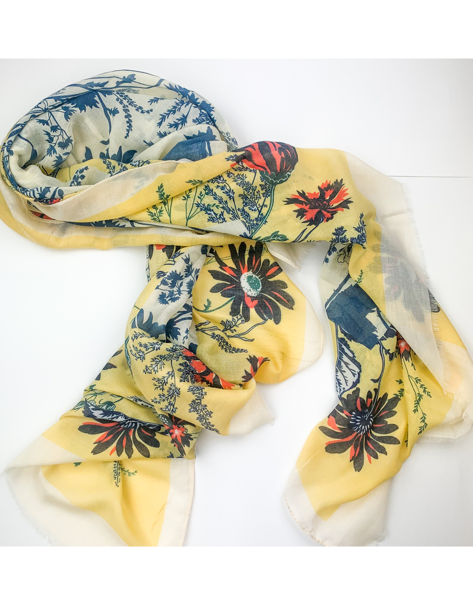 Joy Accessories Spring ahead scarf- yellow