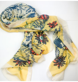 Joy Accessories Spring ahead scarf- yellow