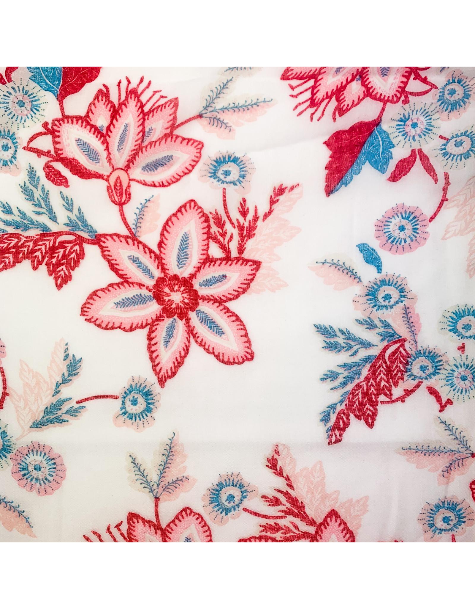 Joy Accessories White Coral petal scarf