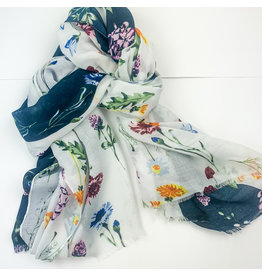 Joy Accessories Scattered Bouquet scarf
