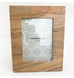 Creative Co-Op Sandstone Photo Frame 5x7