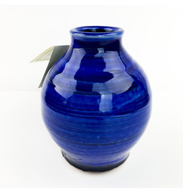 Tiny Town Pottery-consignment Blue Vases (766)