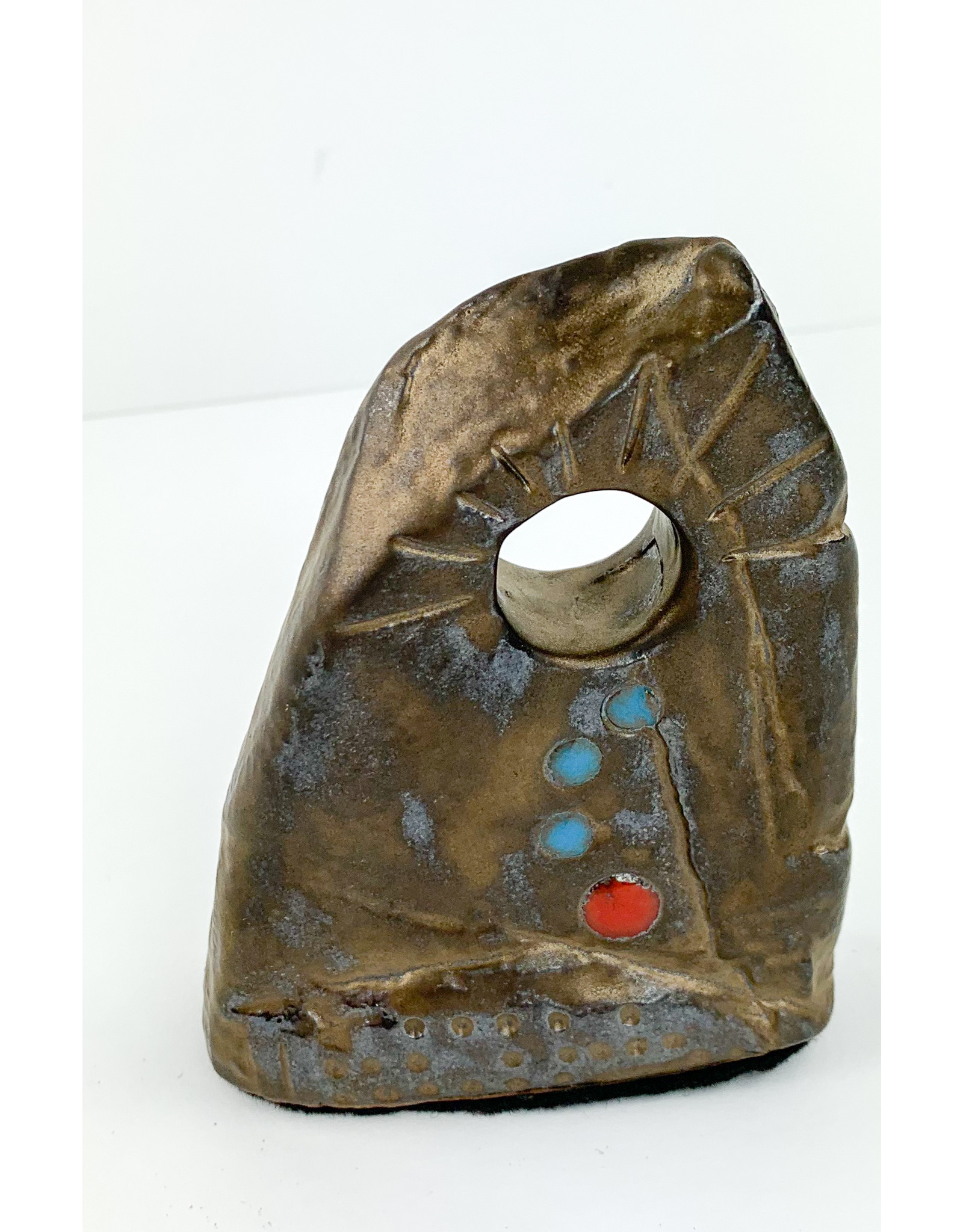 Frog town Pottery-consignment Monolith Med (768)d