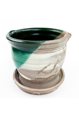 Tiny Town Pottery-consignment Planter (764)