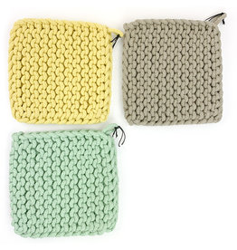 Creative Co-Op Square Chrocheted Pot Holder
