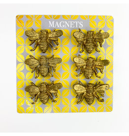 Creative Co-Op Bee Magnets