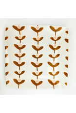 Creative Co-Op Stoneware Plate Plants