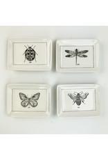 Creative Co-Op Ceramic Dish with Bumblebee