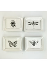 Creative Co-Op Ceramic Dish with Dragonfly