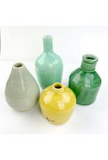 Creative Co-Op Terra Cotta Vase Cream