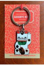 Amar and Riley Goodbye Kitty Keychain
