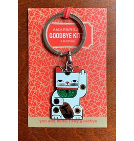 Amar and Riley Goodbye Kitty Keychain