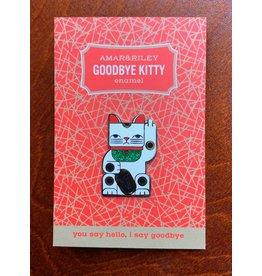 Amar and Riley Goodbye Kitty Pin