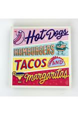 Random House Hotdogs Hamburgers Tacos Margs
