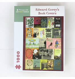 Pomegranate Edward Gorey Book covers 1000 puzzle