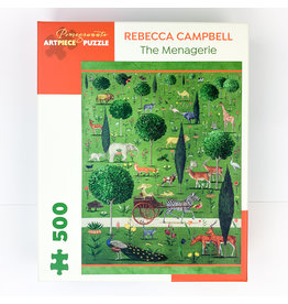 Pomegranate R.Campbell-Menagerie 500 puzzle