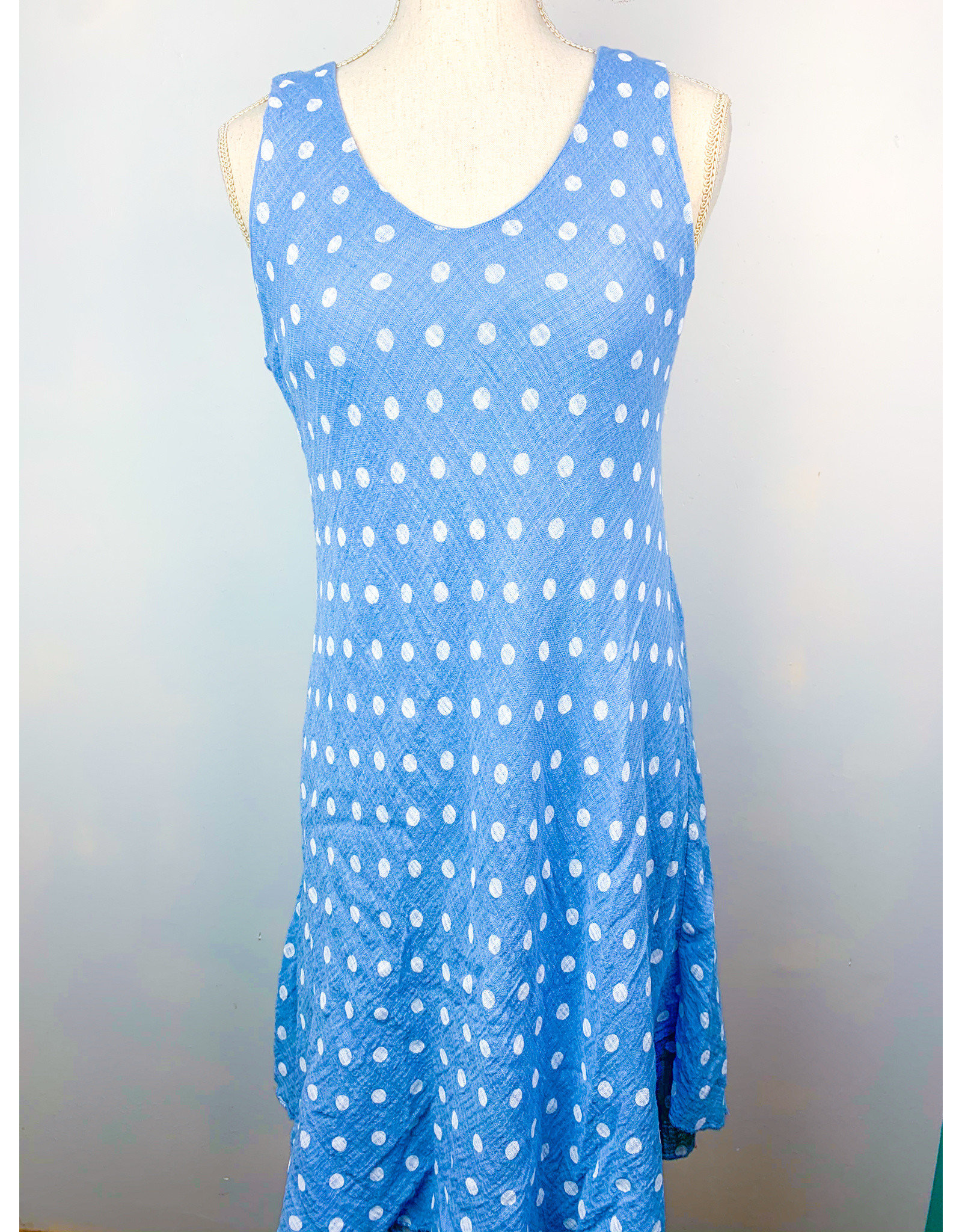 Tempo Paris Dot Sleeveless Dress