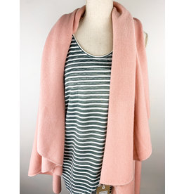 New Prospects Shawl Vest - Blush