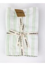 Creative Co-Op Cotton Tea Towels Set of 3