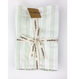Creative Co-Op Cotton Tea Towels Set of 3