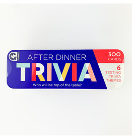 Ginger Fox Trivia After Dinner Tin