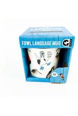 Ginger Fox Fowl Language Mug