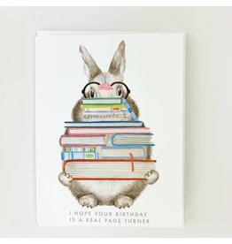 Dear Hancock Bunny with Books