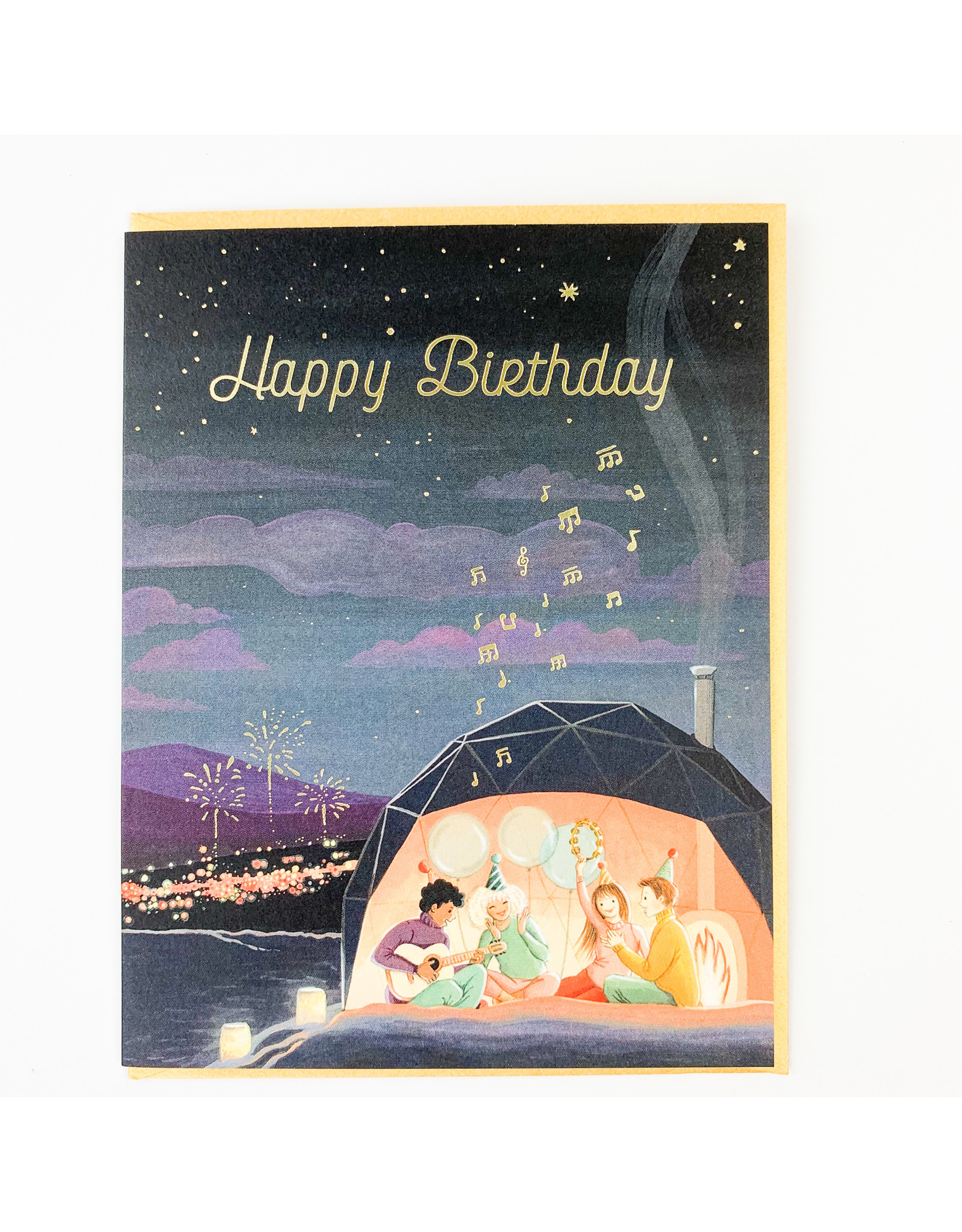 JooJoo Aurora Dome Birthday