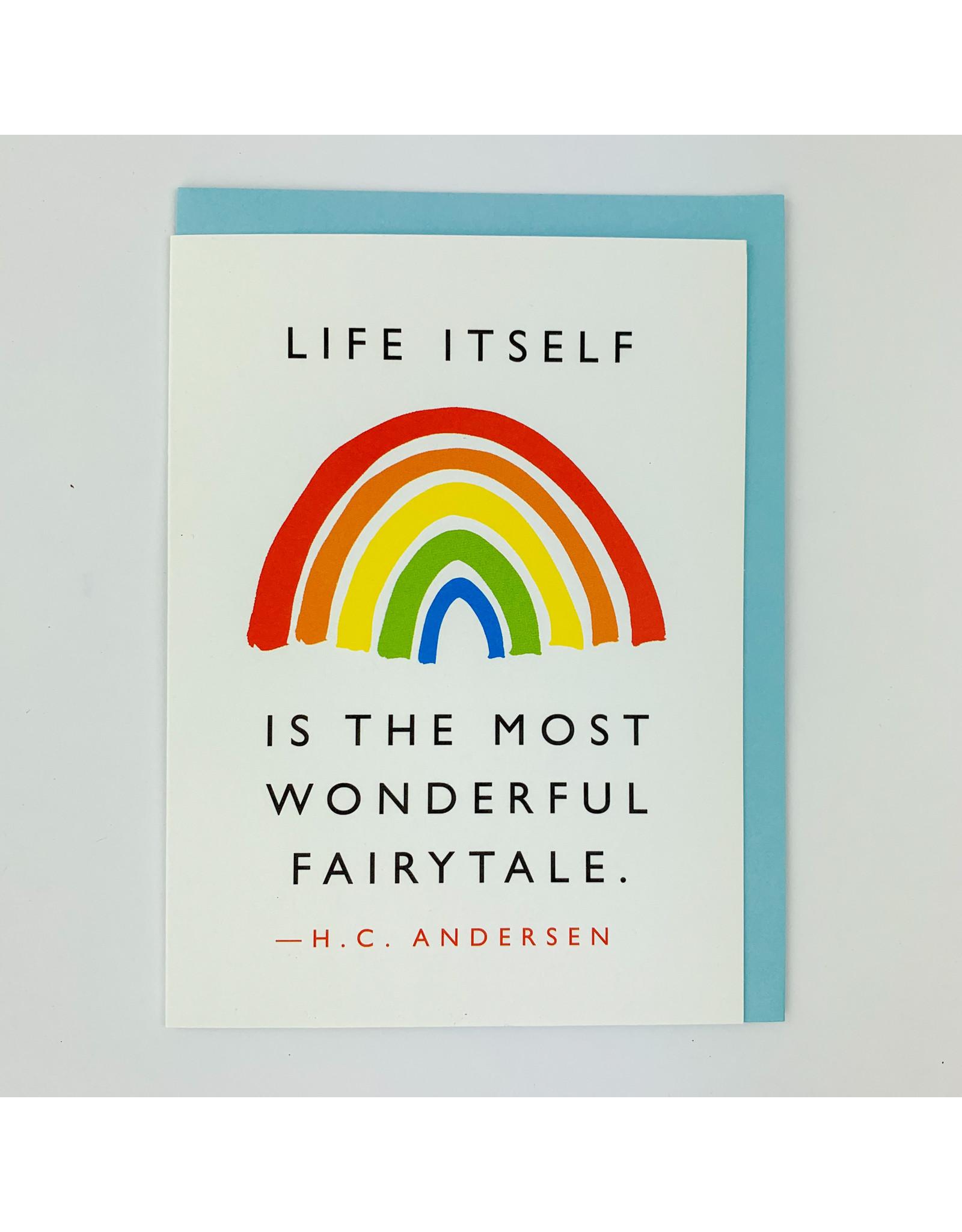 J.Faulkner Fairytale Quote